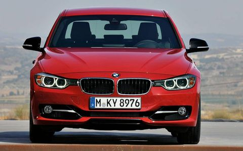 New-design headlights flank a new version of BMW's twin-kidney grille