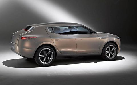 According to Dr. Bez, the new Lagonda is still likely to be an SUV.