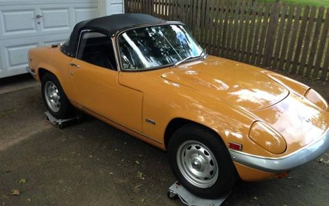 This 1969 Lotus Elan SE S4 is for sale on eBay through Bring a Trailer.