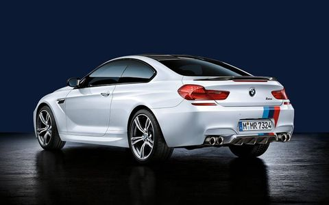 A number of performance upgrades are available from M Performance for the BMW M6.