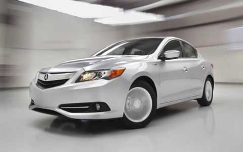 The 2014 Acura ILX Hybrid goes on sale today nationwide.