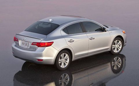 The ILX is the only luxury model to make the top-ten list of Generation Y car shoppers.