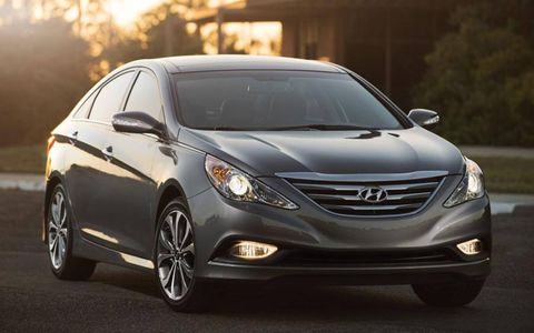 The 2014 Hyundai Sonata costs only $155 more than last year.