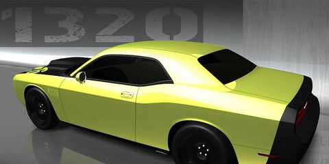 The Mopar Dodge Challenger 1320