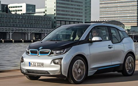 The new i3 is the first road-going BMW model to be based around an all-carbon-fiber body.