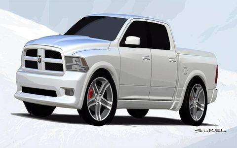 The Mopar Dodge Ram Bianco