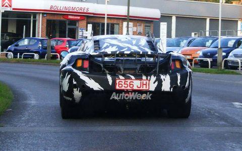 Spied: McLaren P11