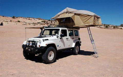 The Mopar Jeep Wrangler Overland