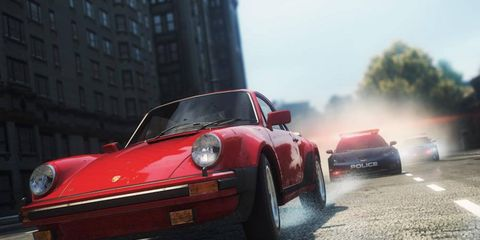 The world shines as I cross the Fairhaven county line driving a Porsche...