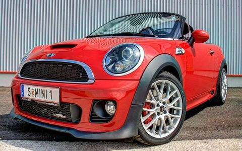 Buyers can get into a 2013 Mini Cooper S Roadster for $29,345.