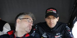 Engineer Craig Hampson and driver Sebastien Bourdais are leading Dale Coyne Racing toward the championship picture this season.