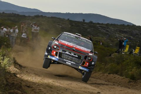 Sights from the WRC Rally Argentina, Sunday April 29, 2018.