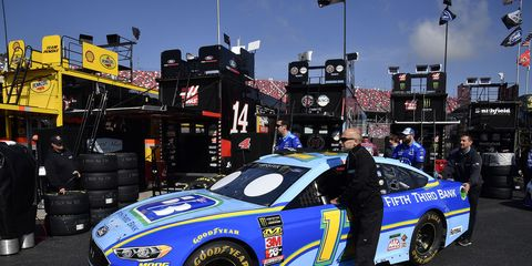 Sights from the NASCAR action at Talladega Superspeedway, Friday April 27, 2018.