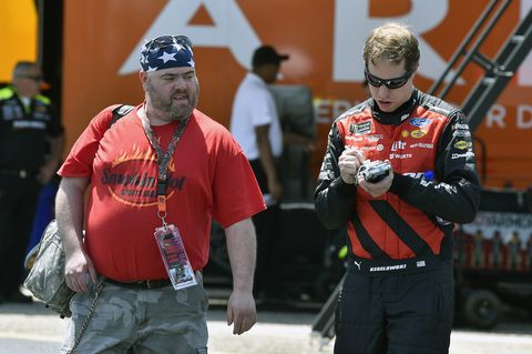 Sights from the NASCAR action at Talladega Superspeedway, Saturday April 28, 2018