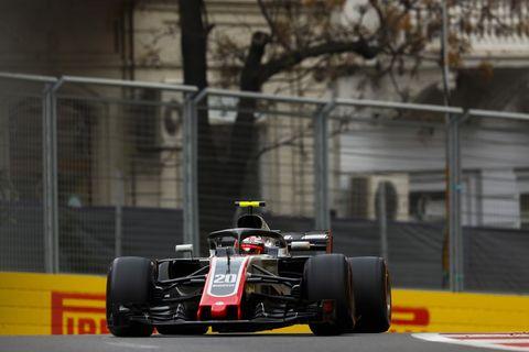 Sights from the F1 action at Baku ahead of the Azerbaijan Grand Prix, Saturday April 28, 2018