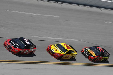Sights from the NASCAR action at Talladega Superspeedway, Sunday April 29, 2018.