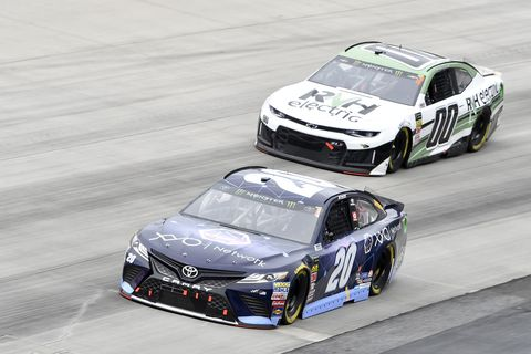 Sights from the NASCAR action at Dover International Speedway, Sunday May 6, 2018.