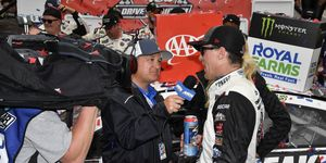 """Kevin Harvick mulled over the potential sale of NASCAR on Tuesday during his """"Happy Hours"""" radio show."""