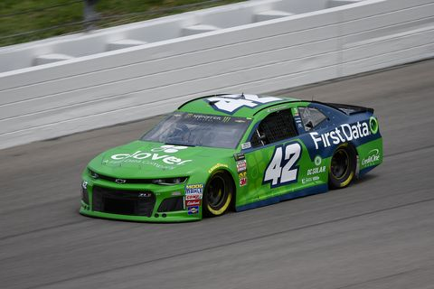 Sights from the NASCAR action at Kansas Speedway, Friday May 11, 2018.