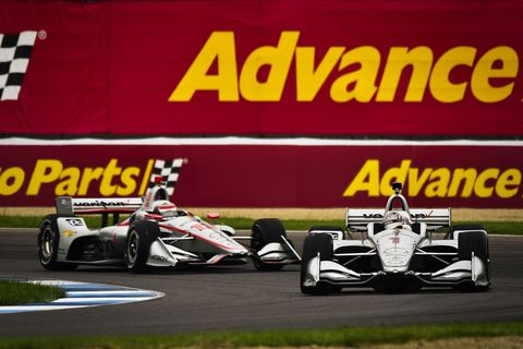 Sights from the action at the IndyCar Grand Prix on the Indianapolis Motor Speedway road course, Saturday, May 12, 2018.