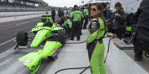 """Patrick made the """"Fast Nine"""" on Saturday and qualified eighth on Sunday's Indy 500 Pole Day"""