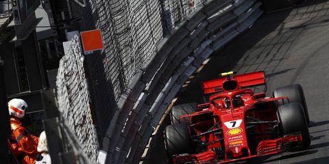 Sights from the F1 Monaco Grand Prix Saturday, May 26, 2018.