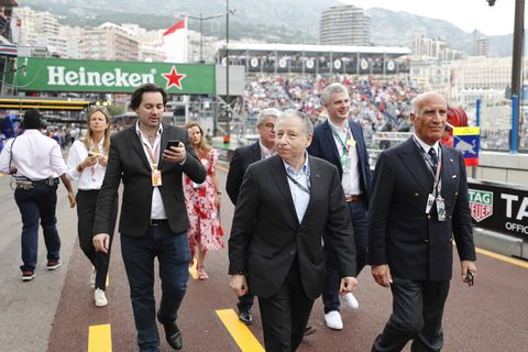 Sights from the F1 Monaco Grand Prix Sunday, May 27, 2018.