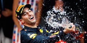 Daniel Ricciardo notched his second victory of the Formula 1 season on Sunday in Monte Carlo.
