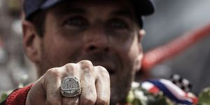 Will Power earned $2.5 million and this championship ring in addition to the Borg-Warner Indianapolis 500 trophy.