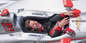 Will Power celebrates his Indy 500 victory -- and the headlines sure to make his scrapbook from the month of May complete.