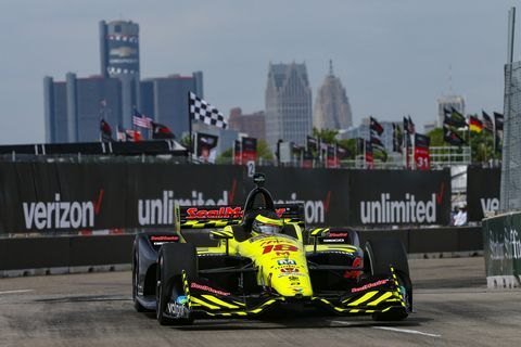Sights from IndyCar Chevrolet Detroit Grand Prix at Belle Isle Park Practice Friday June 1, 2018.