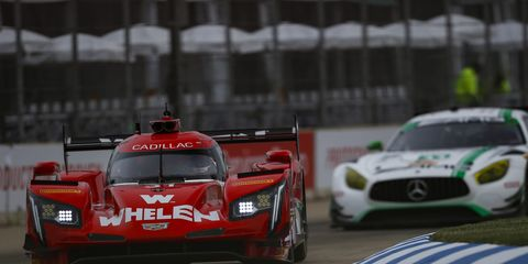 Sights from the IMSA WeatherTech SportsCar Championship Chevrolet Sports Car Classic at Belle Isle Park Saturday June 2, 2018.