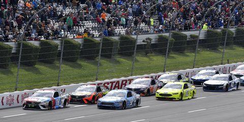 Sights from the NASCAR Pocono 400 at Pocono Raceway Sunday June 3, 2018.