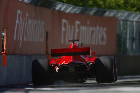 Sights from the F1 action at the Circuit Gilles Villeneuve ahead of the Canadian Grand Prix Saturday, June 9, 2018.