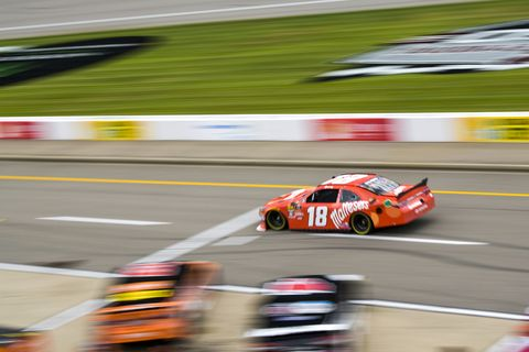 Sights from the NASCAR action at Michigan International Speedway, Saturday June 9, 2018.