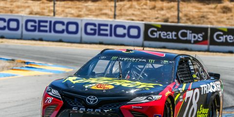 Sights from the NASCAR action at Sonoma Raceway Friday June 22, 2018.