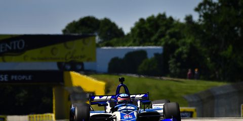 Sights from the action ahead of the IndyCar Series Grand Prix Road America , Saturday June 23, 2018.