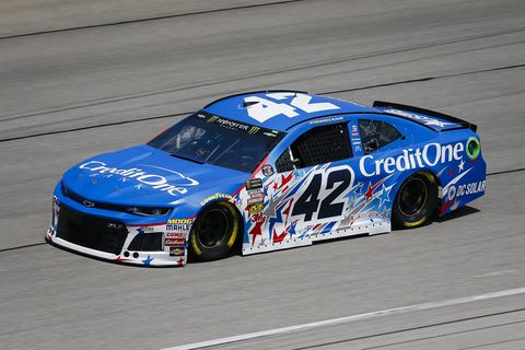 Sights from the NASCAR action at Chicagoland Speedway Saturday, June 30, 2018.