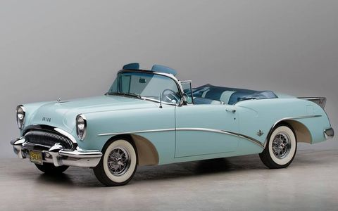 1954 Buick Skylark Convertible Coupe is part of the Staluppi Collection to be auctioned Dec. 1 by RM Auctions.
