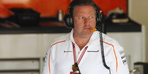 Zak Brown is the CEO of McLaren Racing