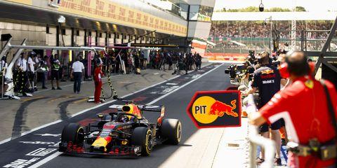 Sights ahead of the F1 British Grand Prix Saturday July 7, 2018.