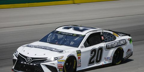 Sights from the NASCAR action at Kentucky Speedway, Friday July 13, 2018.