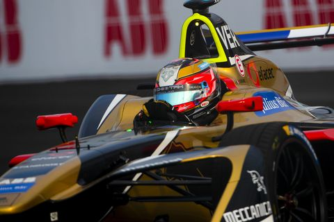 Sights from the Formula E Series New York ePrix Race 1, Saturday July 14,2018