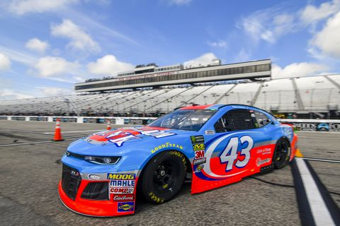 Sights from the NASCAR action at New Hampshire Motor Speedway, Saturday July 21, 2018.