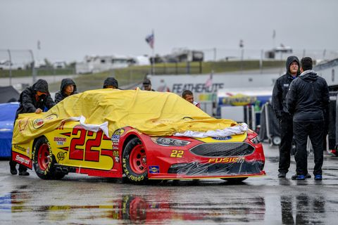 Sights from the NASCAR action at New Hampshire Motor Speedway, Sunday July 22, 2018.