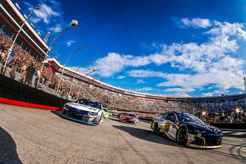 Sights from the NASCAR action at Bristol Motor Speedway Saturday August 18, 2018.