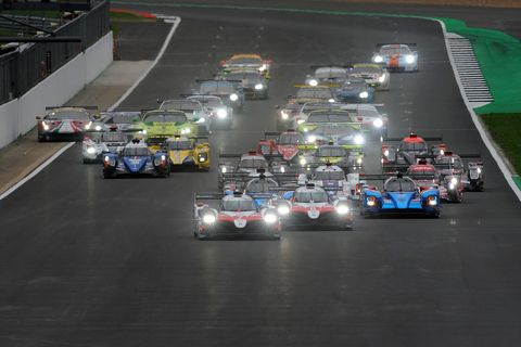 Sights from the action at the WEC 6-Hours of Silverstone, Sunday, August 19, 2018.