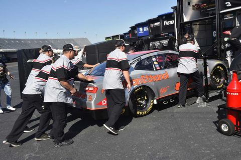 Sights from the NASCAR action at Darlington Raceway, Friday August 31, 2018.