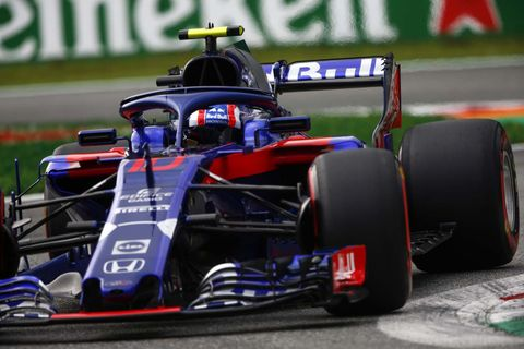 Sights from the F1 action ahead of the Italian Grand Prix at Monza Saturday Sept. 1, 2018.