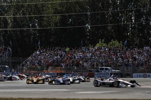 Sights from the IndyCar action at Portland International Raceway Sunday Sept. 2, 2018